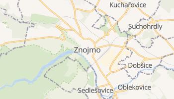Znojmo online map