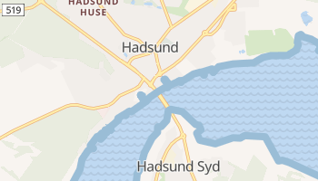 Hadsund online map