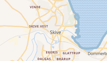Skive online map