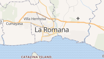 La Romana online map