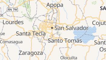 San Salvador online map