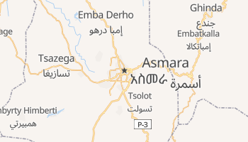 Asmara online map