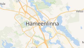 Hameenlinna online map
