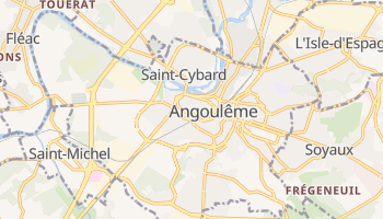 Angouleme online map
