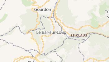 Bar-sur-Loup online map