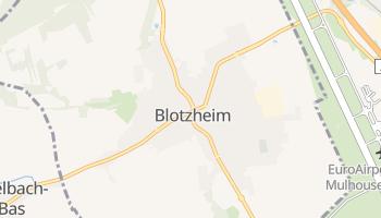 Blotzheim online map