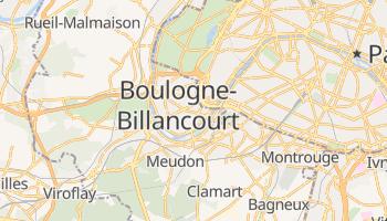 Boulogne-Billancourt online map