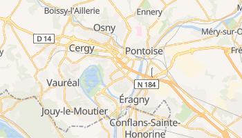 Cergy-Pontoise online map