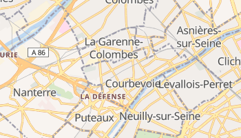 Courbevoic online map
