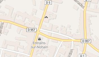 Entrains-sur-Nohain online map