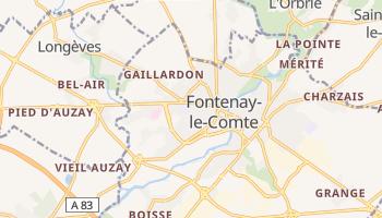 Fontenay-le-Comte online map