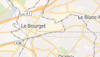 Le Bourget online map