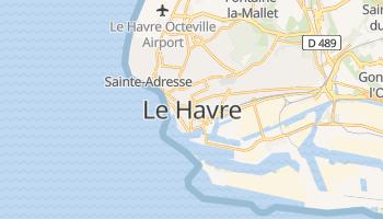 Le Havre online map