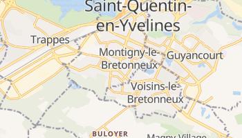Montigny-le-Bretonneux online map