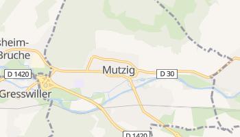 Mutzig online map