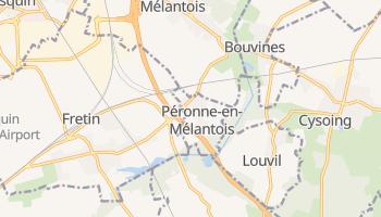 Peronne online map