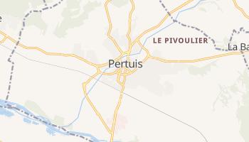 Pertuis online map