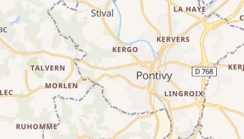 Pontivy online map