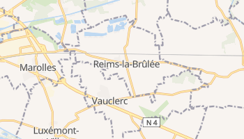 Reims online map