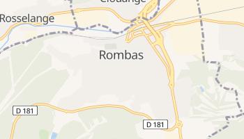 Rombas online map