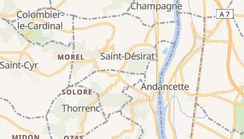 Saint Etienne online map
