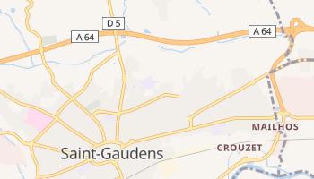 Saint-Gaudens online map