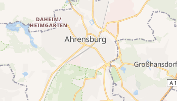 Ahrensburg online map