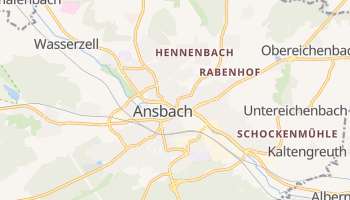 Ansbach online map