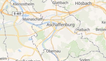 Aschaffenburg online map