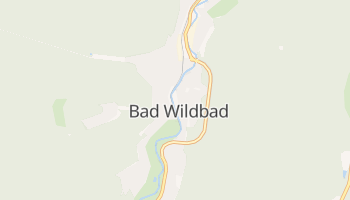 Bad Wildbad online map