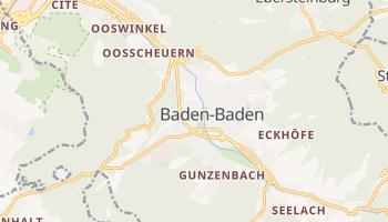 Baden-Baden online map