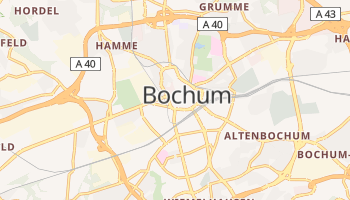 Bochum online map