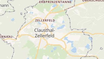 Clausthal-Zellerfeld online map