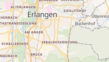 Erlangen online map