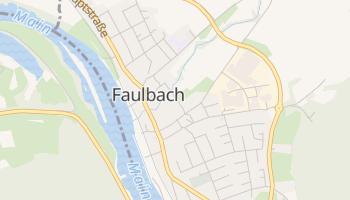 Faulbach online map