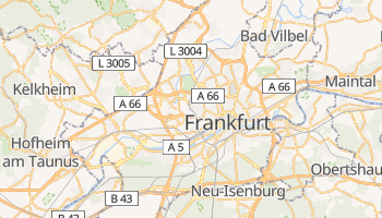 Frankfurt am Main online map