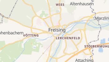 Freising online map