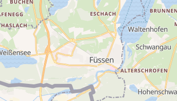 Fussen online map