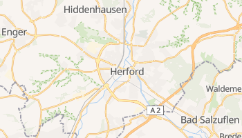 Herford online map
