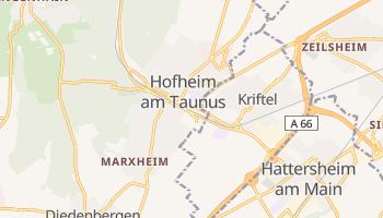Hofheim online map