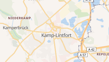 Kamp-Lintfort online map