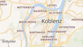 Koblenz online map