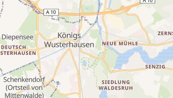 Koenigs Wusterhausen online map
