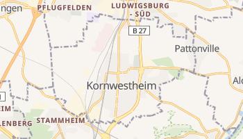 Kornwestheim online map