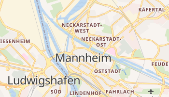 Mannheim online map