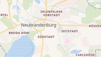 Neubrandenburg online map