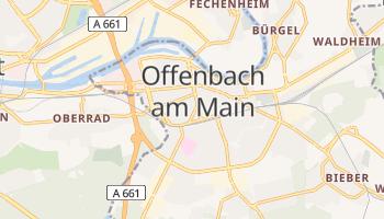 Offenbach online map