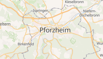 Pforzheim online map