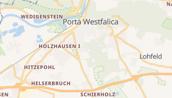 Porta Westfalica online map