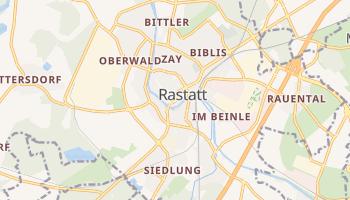 Rastatt online map